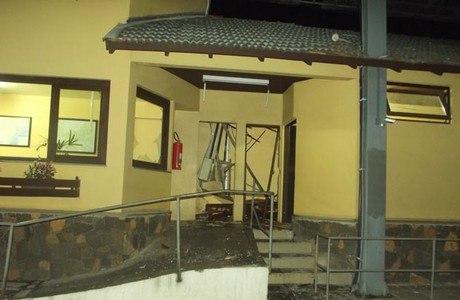 Posto de pedágio em Gramado foi o primeiro a ser atacado