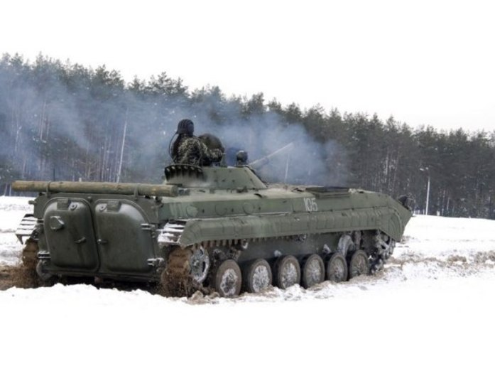 Divulgação/Forças Armadas da Ucrânia