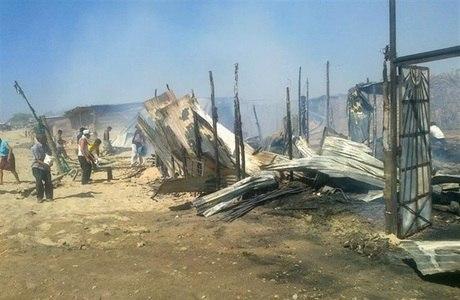 O incidente aconteceu ontem em um bairro pobre da província de Sullana