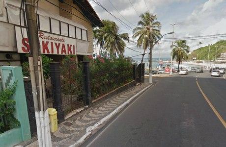 Flagrante em frente a restaurante japonês de Ondina provocou briga