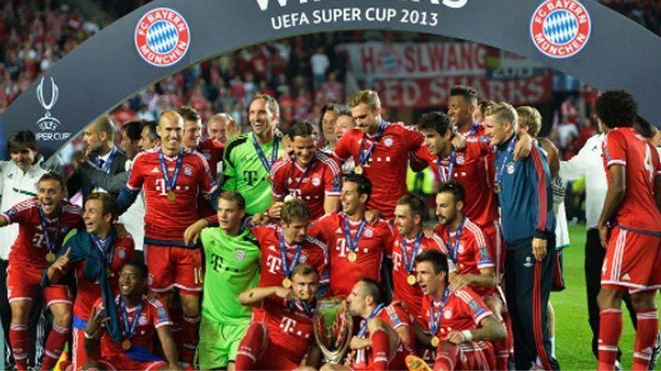 2013 - Após um equilibrado empate por 2 a 2 o Bayern de Munique superou o Chelsea nos pênaltis.