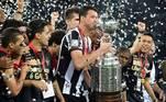 2013: Atlético-MG (campeão) x Olimpia