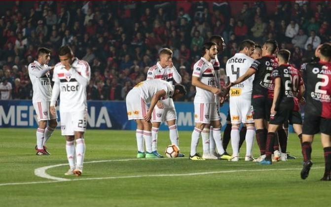 2013 - Semifinal - Outro ano que o São Paulo parou nas semis. Desta vez, o Corinthians eliminou o Tricolor nas penalidades, após empate por 0 a 0.