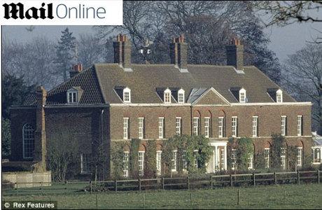 O duque e a duquesa de Cambridge serão presenteados pela rainha Elizabeth 2ª com a mansão Anmer Hall em Norfolk