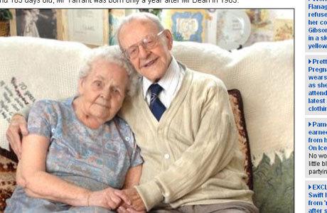Homem mais velho: Ralph Tarrant tem 109 anos e fumou até os 70
