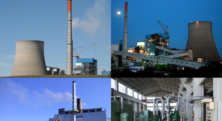 Usinas termelétricas brasileiras