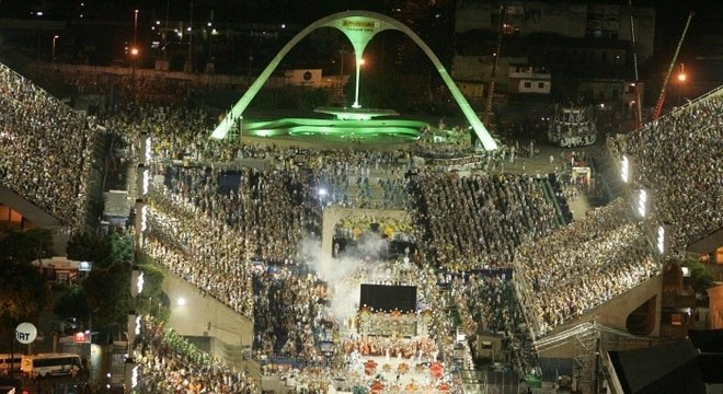 Marquês de Sapucaí está preparada para receber mais um Carnaval carioca (Foto: Ag. O Dia)