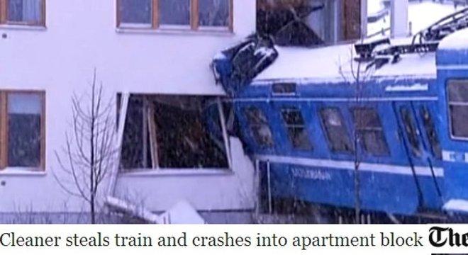 Foi um trem que passou na cozinha sueca e que não deixou pedra sobre pedra!
