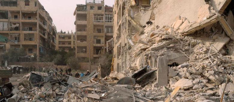 Rebeldes sírios disseram que o incidente ocorreu em Aleppo, maior cidade da Síria, no norte
