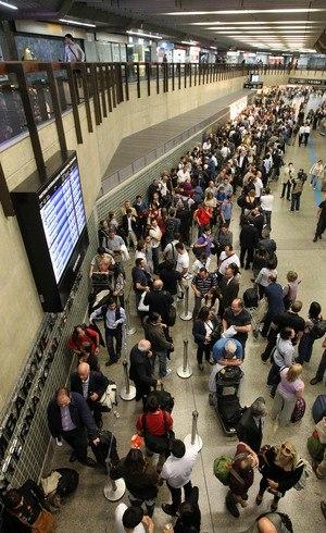 Passageiros poderão evitar filas no check-in
