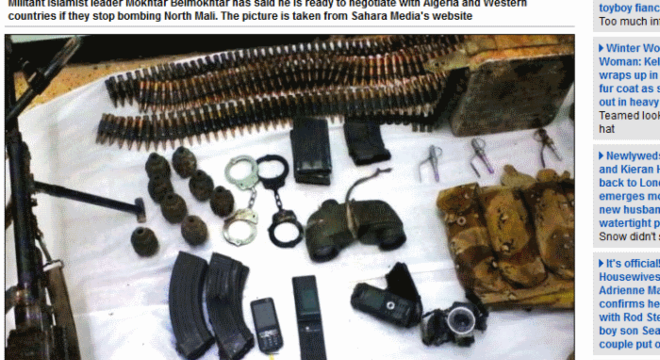 Militantes usaram granadas de mão, rifles, algemas e celulares em sequestro