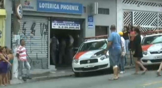 Assalto a lotérica deixa dois suspeitos mortos em Diadema, na Grande São Paulo