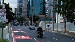 Prefeitura de SP busca patrocinadores para ciclofaixa de lazer (Daia Oliver/R7)