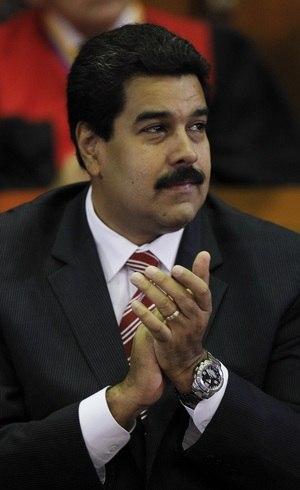 O vice-presidente, Nicolás Maduro, é o braço direito de Hugo Chávez no governo venezuelano
