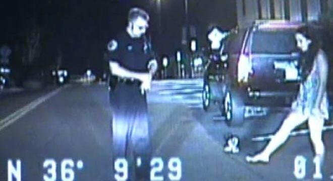 Coral surpreendeu os policiais durante seu teste de sobriedade. Imagem ilustrativa