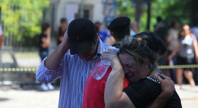 Tragédia mobilizou a população de Santa Maria (RS)