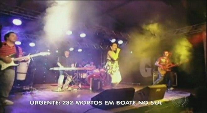 Pirotecnia pode ter causado tragédia em boate do Rio Grande do Sul