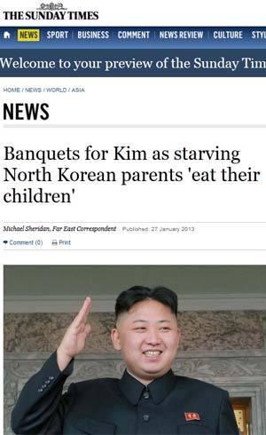 Reportagem do Sunday Times aponta possível crise humanitária na Coreia do Norte