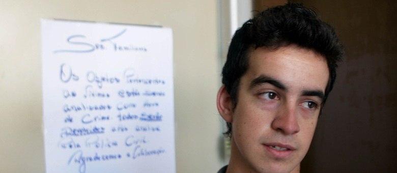 Bruno Jaques tentou recuperar o instrumento do irmão que é integrante da banda Gurizada Fandangueira e morreu no incêndio