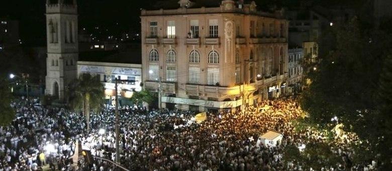 Primeiro ato reuniu mais de 15 mil pessoas na segunda-feira (28)