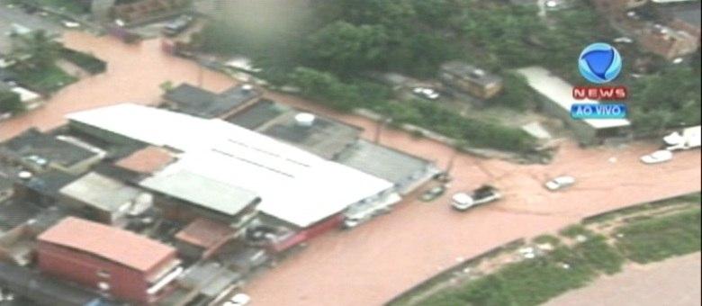 Chuva amenizou na capital, mas corre o risco de aumentar caso instabilidade da Grande São Paulo adentre a cidade