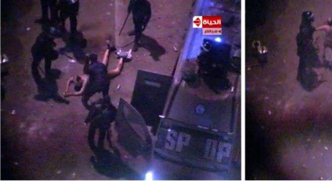 Imagens revoltaram manifestantes que protestavam contra o governo no Egito