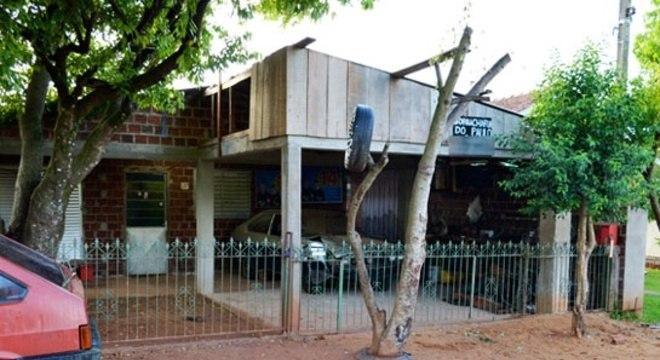 Casa em que pai matou os dois filhos a marteladas no RS
