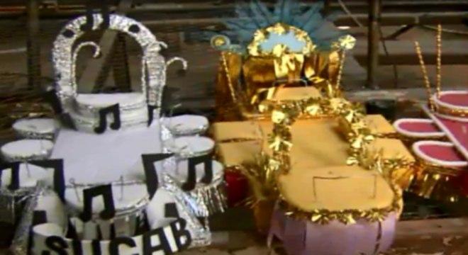 """Alegorias e fantasias criadas para a festa de Carnaval podem acabar """" perdidas"""""""