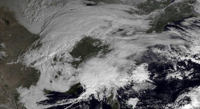As regiões mais afetadas, segundo as estimativas, serão as de Nova York, da Pensilvânia, de Rhode Island e Massachusetts