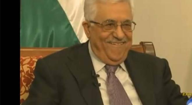 Abbas recebeu o repórter Herbert Moraes em Ramallah