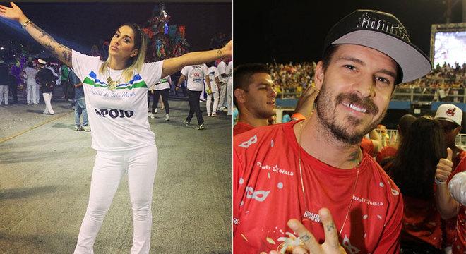 Dani Bolina e Matheus Verdelho no Anhembi, mas em lugares diferentes