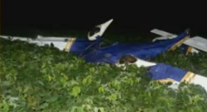 Aeronave cai em Passo Fundo (RS). Piloto morreu no acidente