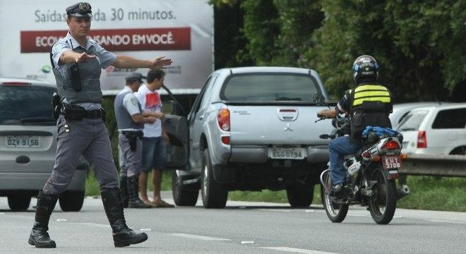 Policiamento nas estradas foi reforçado neste Carnaval
