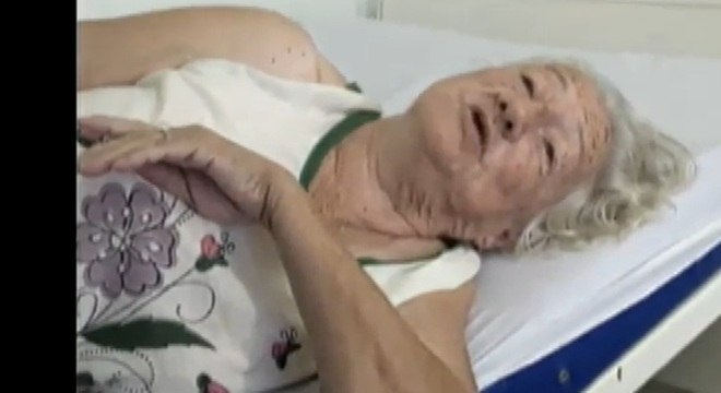 No hospital, dona Judith pediu para que seus parentes não pudessem ter acesso ao quarto em que estava internada