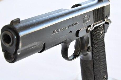 Arma semelhante à encontrada por Trenton Mathis