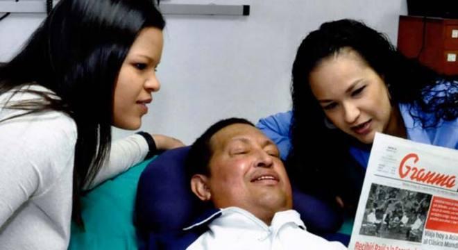 As notícias sobre Chávez continuam poucas e sempre através de terceiros