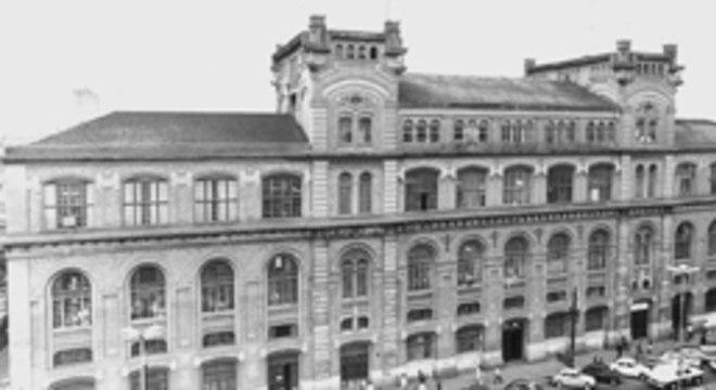 Imagem do antigo prédio do Dops (Departamento de Ordem Política e Social) durante a ditadura militar, localizado no Bom Retiro, na capital paulista, antes de passar por reforma para se transformar em centro cultural, a Estação Pinacoteca