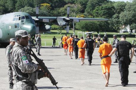 Transferências de detentos de SC para Rondônia começaram no último dia 17