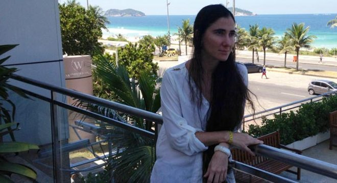 Yoani participou hoje de um café da manhã com jornalistas no Hotel Windsor, na Barra da Tijuca, zona oeste do Rio, onde está hospedada desde a tarde de sábado