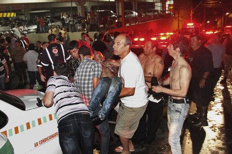 Após incêndio, número de internados passou de 140