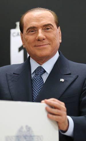 Berlusconi já pensa nas eleições presidenciais que serão realizadas em abril