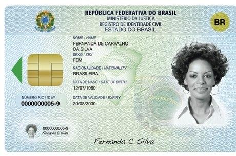 Resultado de imagem para carteira de identidade unica