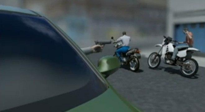 Atirador impede assalto a um empresário em uma moto importada na zona sul de São Paulo