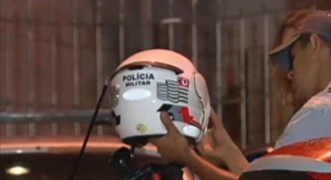 PM foi salvo pelo próprio capacete durante um tiroteio na zona leste de São Paulo