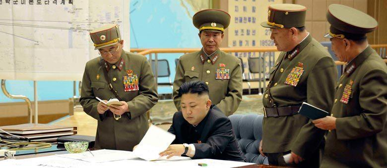 Na reunião de 29 de março, estavam presentes autoridades de comunicação do Exército: a Coreia do Norte está mobilizando de fato seus propagandistas, cujo trabalho é fazer briga de palavras, e não briga real