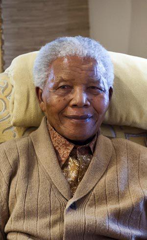 Mandela em julho de 2012
