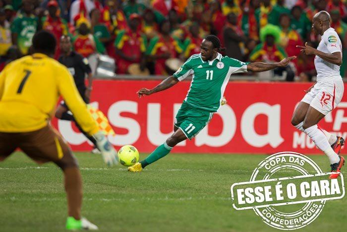 d1955219ff254 Esse é o cara  Moses é a arma da Nigéria para vencer a Copa das ...