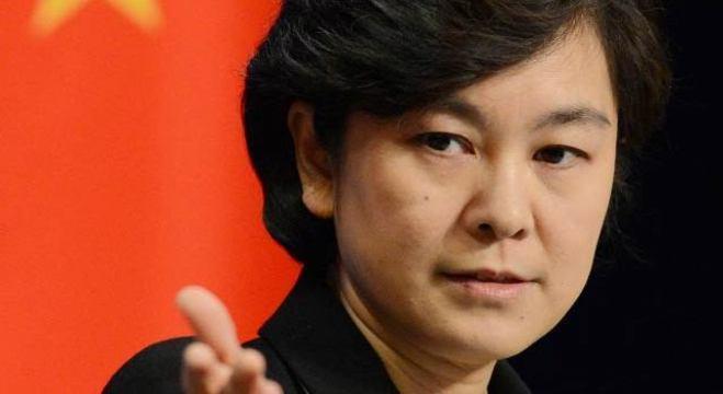 Hua Chunying, porta-voz do Ministério das Relações Exteriores