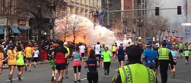 Autoridades de segurança estão em alerta desde as explosões que atingiram a Maratona de Boston na segunda-feira
