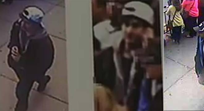 FBI divulgou a foto do suspeito número um e dois no site da instituição